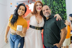 Maju Martyns, Ana Fine Grey e Jorge Neris