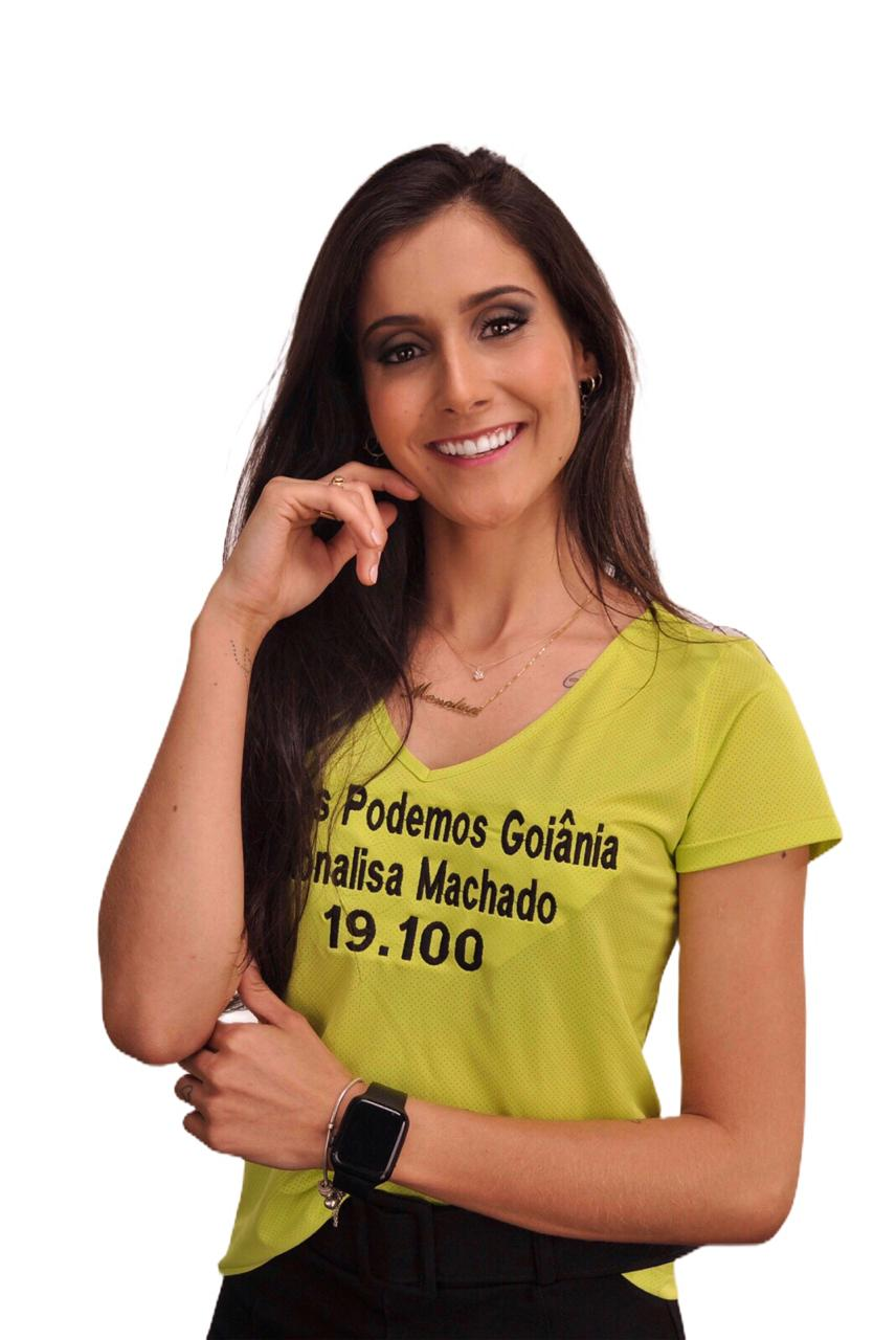 Candidata à veradora Monalisa Machado