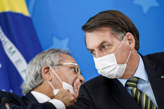 Bolsonaro e Guedes BBC