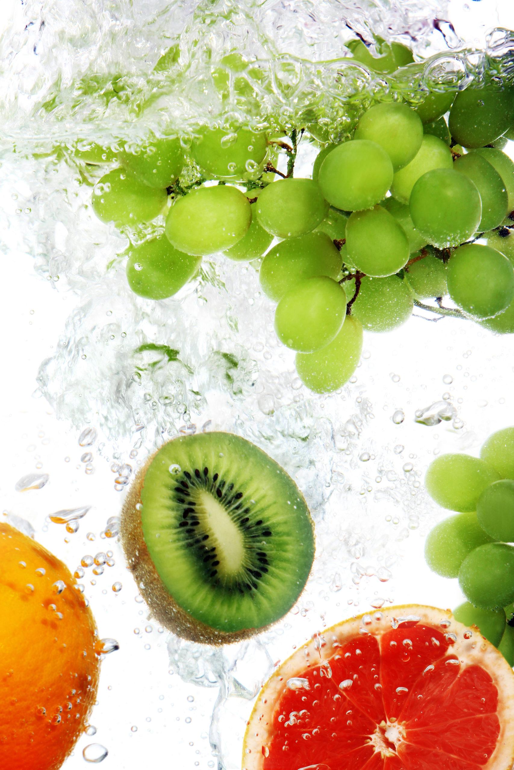Lavar frutas