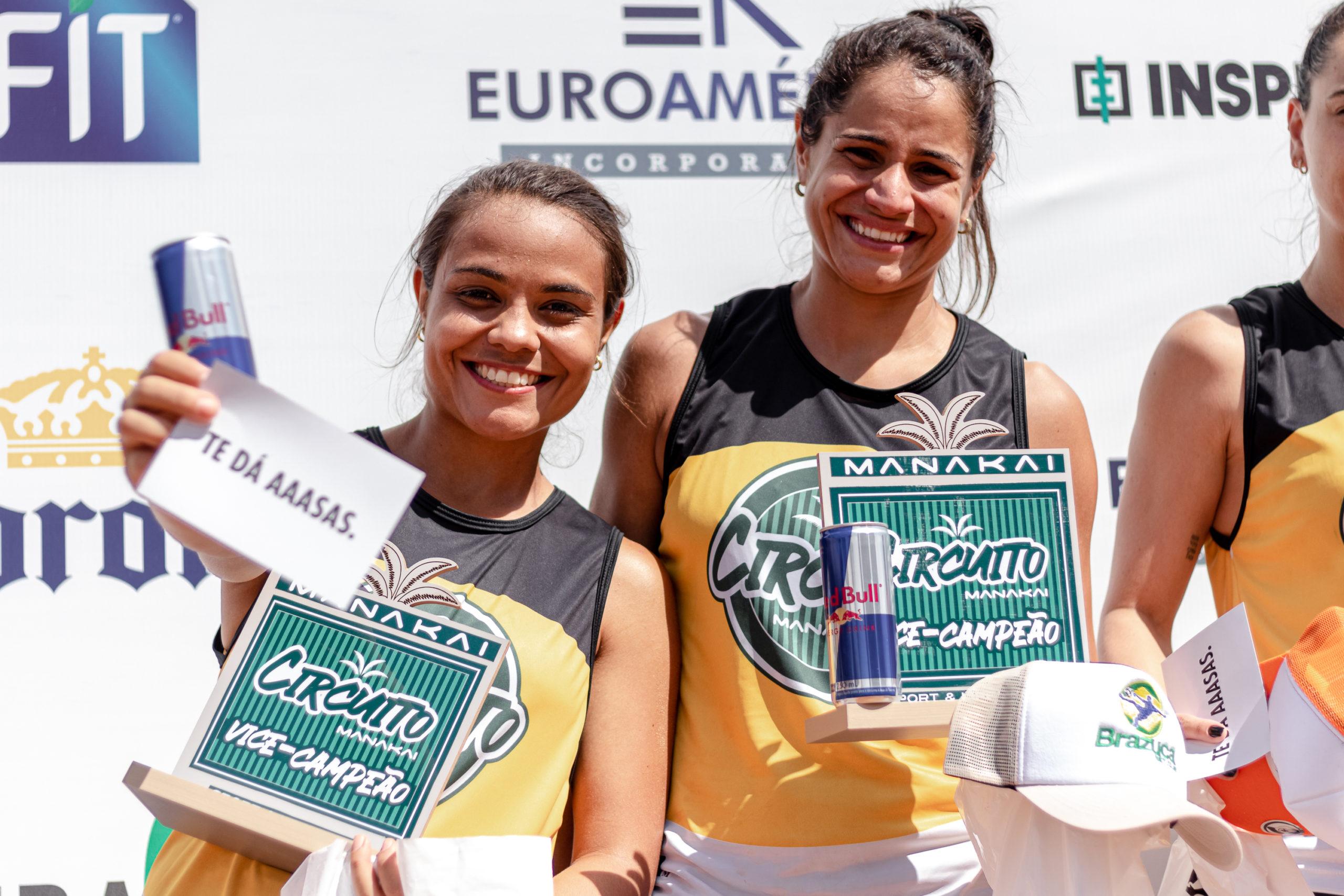 Ana Carolina e Franciely Bittencourt (2º lugar categoria avançado feminino)