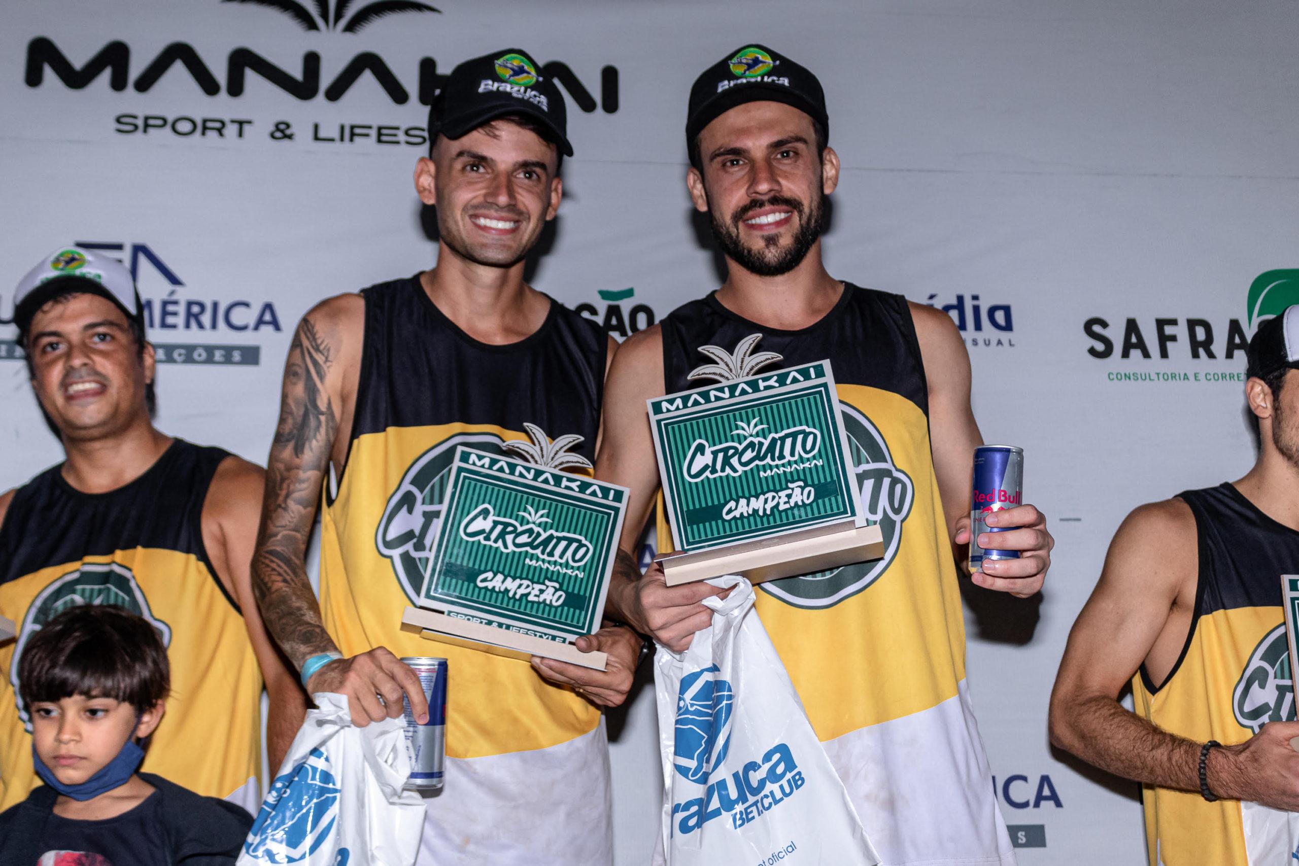 Frederico Faria e Theylor Angonese (1º lugar da categoria intermediário masculino)