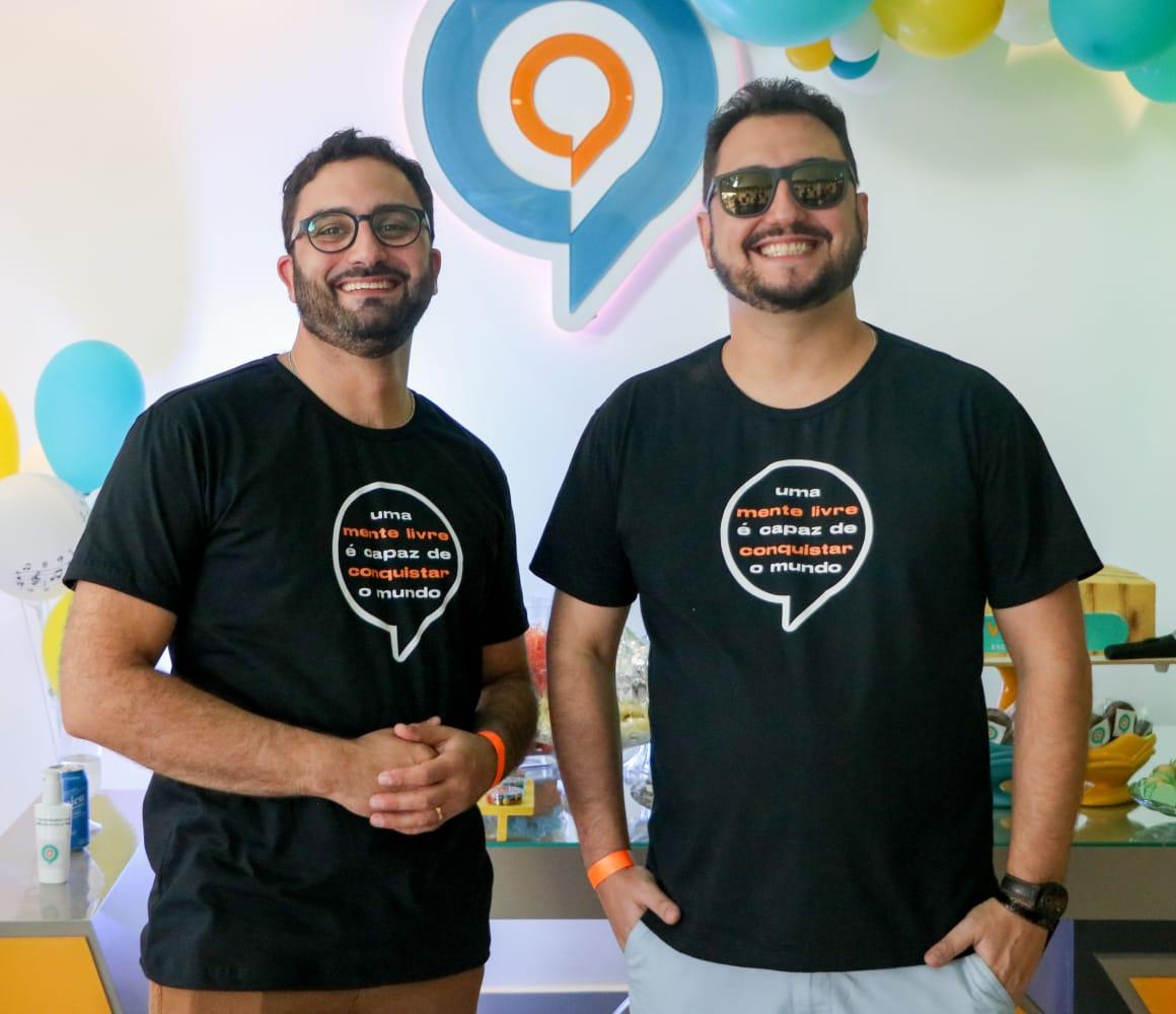 empresários Bruno Cunha e Luiz Portal