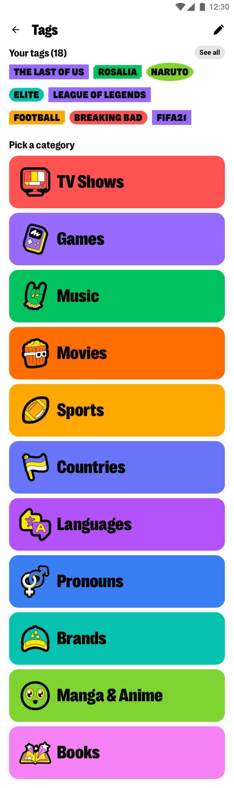 Yubo icones