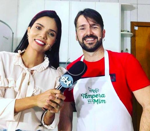Gzui Filho e Janaína Andrade