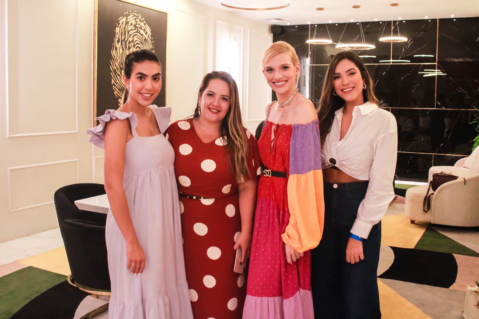 Ana Carolina Nafiff, Bianka Muniz, Bruna Maestrello e Juliana Teles