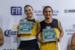 Mariana Castro e Vitor Peixoto